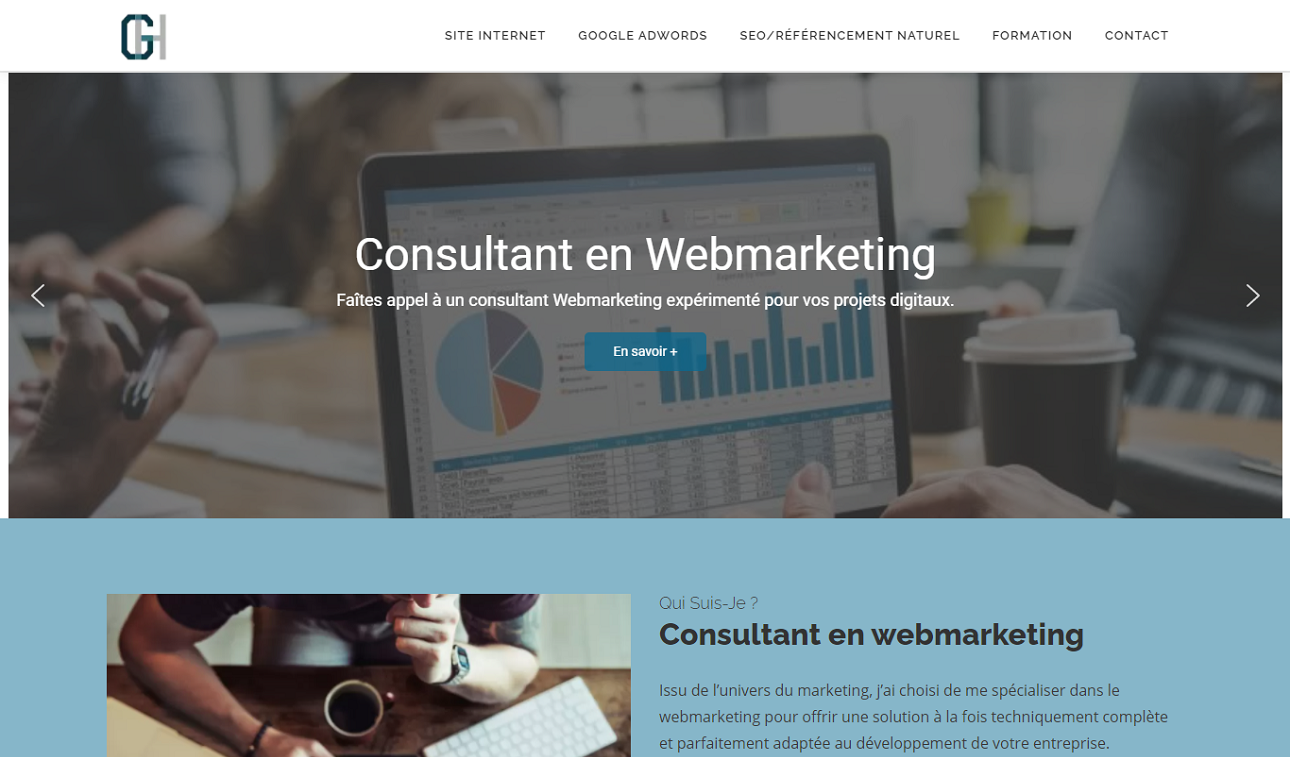 Consultant webmarketing Normandie
